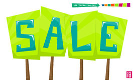 Verkauf 2 Stockbild