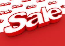 Verkauf! Stockbild