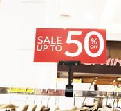 Verkauf (bis 50 weg) Stockfotos