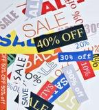 Verkauf conept Lizenzfreies Stockfoto