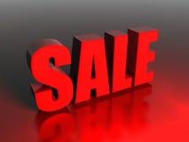 Verkauf 3D übertragen Stockfotografie