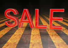 Verkauf 3d Lizenzfreie Stockfotografie