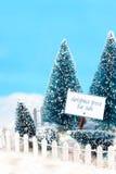 Verkauf der Bäume Lizenzfreie Stockfotos