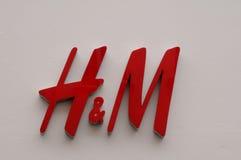VERKAUF 70% AN DER SCHWEDISCHEN EINZELHANDELSKETTE H&M Lizenzfreies Stockbild