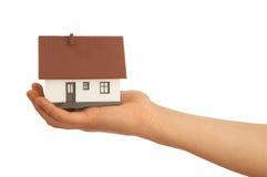 Verkauf des Hauses Stockbild