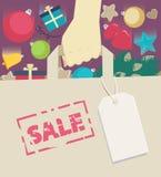 Verkauf des neuen Jahres Lizenzfreie Stockbilder