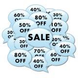Verkauf fügen Ikone hinzu Lizenzfreie Stockfotos