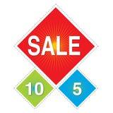 Verkauf - hängender Drachen Shpae Stockbild