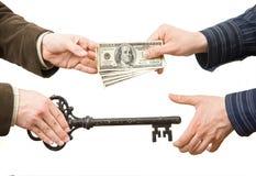 Verkauf oder Kaufen Lizenzfreies Stockfoto