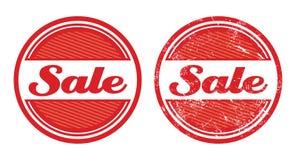 Verkauf Retro- grunge Abzeichen vektor abbildung
