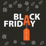 Verkauf an schwarzem Freitag Stockfotografie