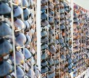 Verkauf Sonnenbrillen Stockfoto