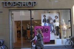 50% Verkauf am topshop Stockfotografie