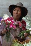 Verkauf von Blumen 3 Lizenzfreie Stockfotografie