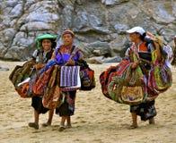 Verkauf von Handwerkkünsten auf dem Strand Lizenzfreies Stockfoto
