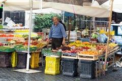 Verkauf- von landwirtschaftlichen Erzeugnissenbioprodukte in Campo-dei Fiori Stockfotos