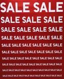 Verkauf weg Lizenzfreies Stockfoto