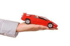 Verkaufen Sie ein Auto lizenzfreie stockfotografie