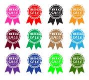 Verkaufs-Ikonen-Sammlung Lizenzfreie Stockfotos