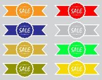 Verkaufs-Ikonen-Sammlung Lizenzfreies Stockbild