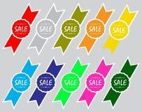Verkaufs-Ikonen-Sammlung Stockfoto