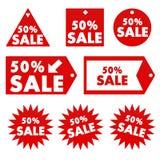 Verkaufs-Karten Lizenzfreie Stockfotografie