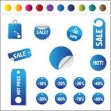 Verkaufs-Marken Lizenzfreie Stockfotografie