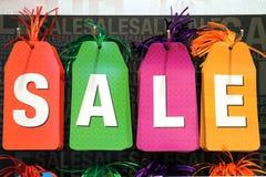 Verkaufs-Marken Lizenzfreie Stockbilder