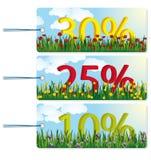 Verkaufs-Marken Lizenzfreies Stockbild