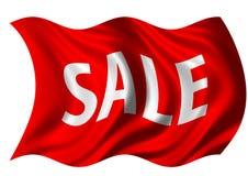 Verkaufs-Markierungsfahne Stockfoto