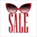 Verkaufs-Sonnenbrille Stockbild