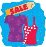 Verkaufs-T-Shirts Lizenzfreie Stockfotos
