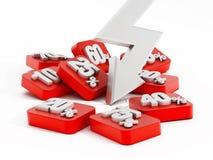 Verkaufs- und Förderungskonzept Lizenzfreie Stockfotos