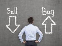 Verkaufs- und Kaufpfeile Lizenzfreie Stockfotos