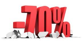 Verkaufs- und Rabattanzeigenkonzept Lizenzfreies Stockfoto