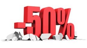 Verkaufs- und Rabattanzeigenkonzept Lizenzfreie Stockfotos