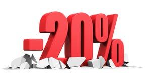 Verkaufs- und Rabattanzeigenkonzept Lizenzfreies Stockbild