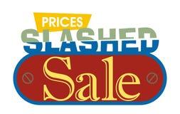 Verkaufs-Untertitel - 6 Lizenzfreies Stockfoto