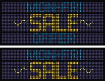 Verkaufs-Untertitel - 8 [Vektor] Lizenzfreie Stockfotos
