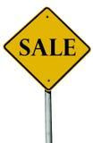 Verkaufs-Zeichen Stockfotografie
