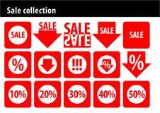 Verkaufsansammlung Lizenzfreie Stockfotos