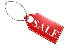Verkaufsaufkleber Lizenzfreies Stockbild