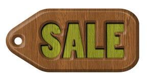 Verkaufsaufkleber, Tag Lizenzfreies Stockbild