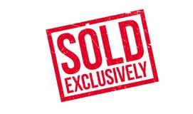 Verkaufsausschließlich Stempel Lizenzfreie Stockbilder