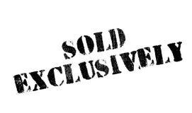 Verkaufsausschließlich Stempel Lizenzfreies Stockbild