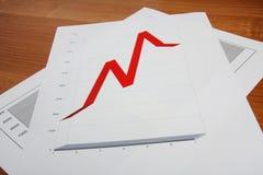 Verkaufsbericht lizenzfreie stockbilder