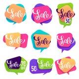 Verkaufsblasen Lizenzfreies Stockfoto