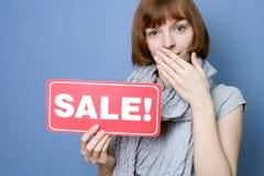 Verkaufserwartung Lizenzfreies Stockfoto