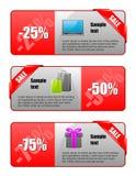 Verkaufsfahne Lizenzfreie Stockfotografie