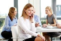 Verkaufsfrauenporträt Lizenzfreie Stockfotos